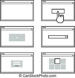 it., sieć, otworzony, przeszły, okno, template., zadowolenie, s, twój, browser