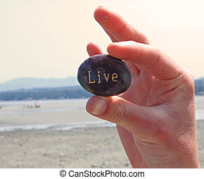 it., steen, leven, geschreven