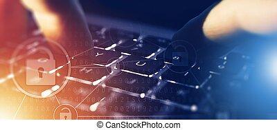 IT Technology Banner Concept