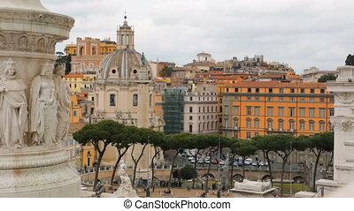 italië, kerstman, di, maria, loreto kerk, trajan's, rome,...