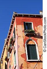 italia, architettura, venezia