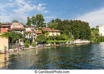 italia,  bella, lago,  stresa,  maggiore,  Isola