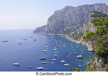 italia, capri