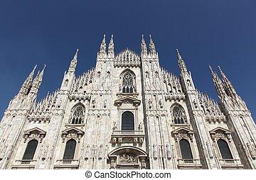 italia, catedral, milan