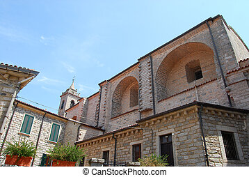 italia, -, cerdeña, 240, iglesia, tempio, pausania