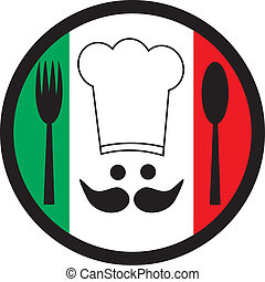 Italia chef - Creative design of italia chef