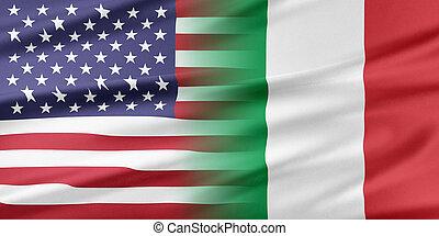 italia, estados unidos de américa