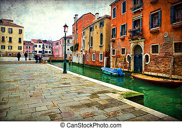 italia, venecia
