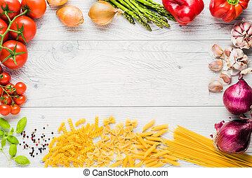italiaans koken, ingredienten