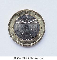 Italian 1 Euro coin