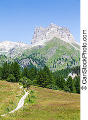 Italian Alps - Close to Bardonecchia, Piemonte Region,...