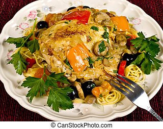 Italian Baked Chicken