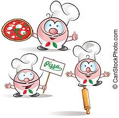 italian chef set