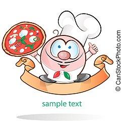 italian chef symbol