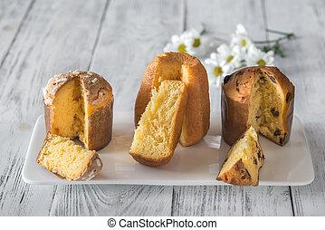 Italian Christmas cakes collection