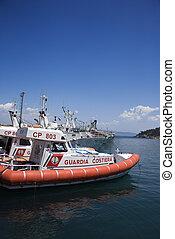 Italian Coast Guard.