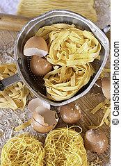 Italian Cuisine, Egg Pasta