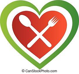 Italian cuisine logo