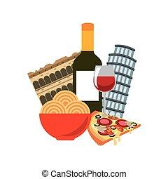 italian culture holidays icon