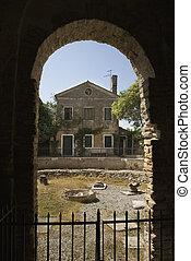 Italian dwelling.