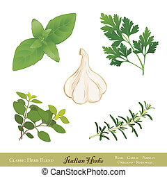 Italian Herbs for Cooking - Traditional Italian herbs for...