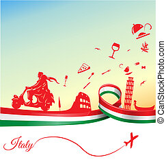 Italian holidays background