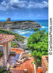italian house by the sea