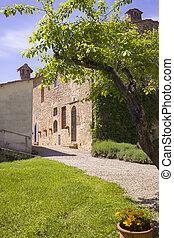 Italian house in Tuscany