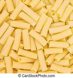 Italian Macaroni Pasta raw food background or texture