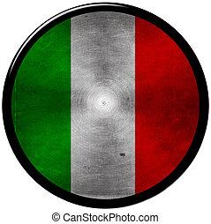 Italian metallic button