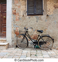 Italian old-style bicycles