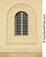 Italian old town window