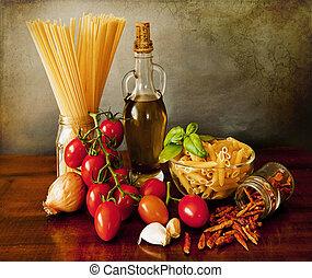 Italian pasta, arrabbiata sauce recipe