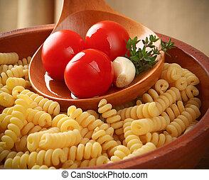 Italian pasta Fusilli