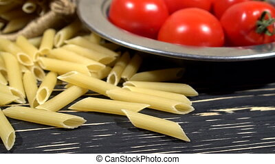 Italian pasta ingredients