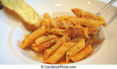 Italian pasta, Penne Seafood