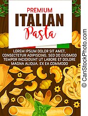 Italian pasta, premium Italy cuisine - Italian premium...