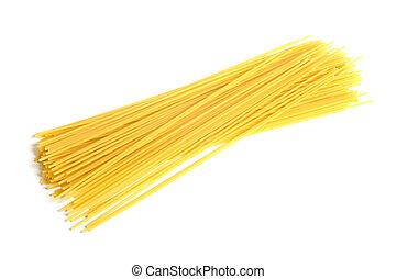 Italian pasta (spaghetti)
