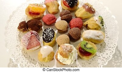 italian pastries - Italian pastries assorted rotating