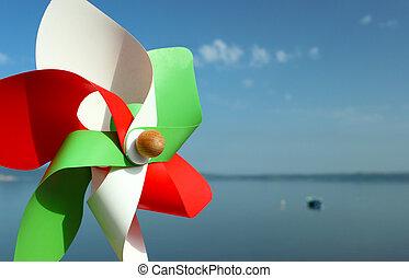 Italian pinwheel