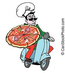 Italian pizza delivery