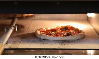 Italian Pizza in oven - Italian Pizza in electric oven