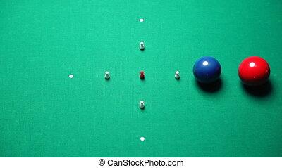 italian pool game. 30p