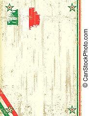 Italian retro background