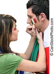 Italian sports fans