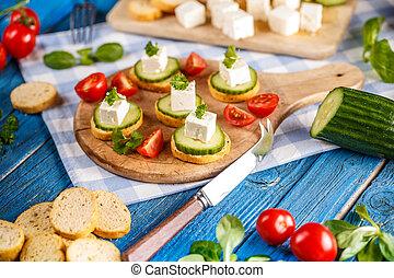 Italian toasted garlic bread