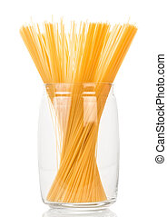 Italian uncooked pasta
