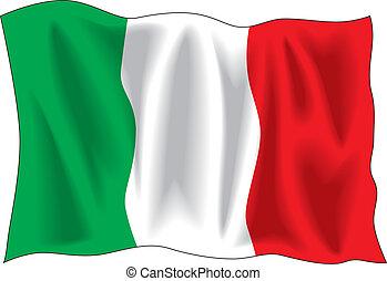 italian vlaječka