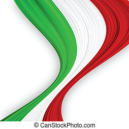 italiano, flag.