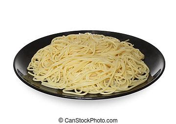 italiano, food:, espaguetis